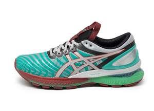 Chaussures Asics Nimbus 22 Baltic Jewel pour Femme - Tailles 35.5 à 37.5