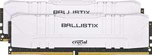 Kit mémoire RAM DDR4 Crucial Ballistix BL2K8G36C16U4W 16 Go (2 x 8 Go) - 3600 MHz, CL16, Blanc