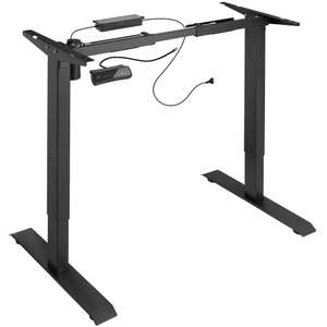 Structure bureau assis-debout électrique - Noir ou Blanc (tectake.fr)