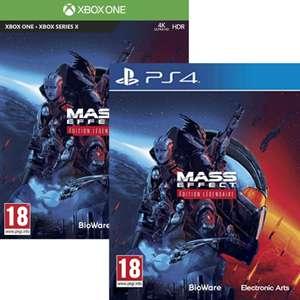 Mass Effect : Édition Légendaire sur PS4 ou Xbox One