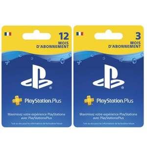 Abonnement PlayStation Plus de 15 Mois pour PS4-PS5