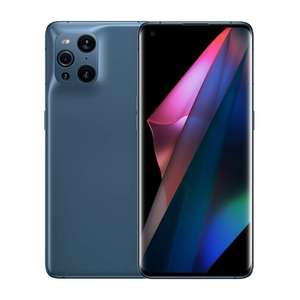 """Smartphone 6.7"""" Oppo Find X3 Pro 5G - WQHD+, SD 888, 12 Go RAM, 256 Go, bleu (Frontaliers Suisse)"""