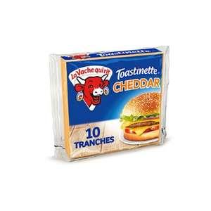 Lot de 3 paquets de 10 toastinettes La Vache Qui Rit Cheddar - 3 x 200 g (Magasins participants)