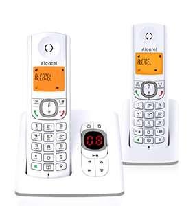 Téléphone sans fil Alcatel F530 Voice Duo - Répondeur intégré, 2 Combinés