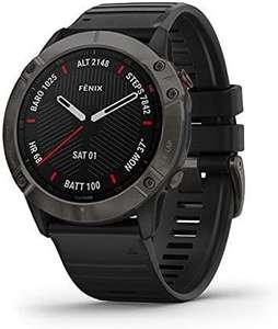 Montre Connectée GPS Garmin Fenix 6X Sapphire