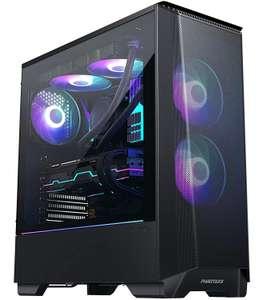 PC Gaming - Ryzen 5 5600X, RTX 3060 Ti, 16Go RAM (3600 MHz), 500Go SSD, Alim 600W, MSI B550A-Pro + Clavier Gamer QWERTZ (1217€ avec montage)