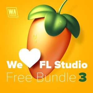 Bundle Audio We Love FL Studio free bundle 3 gratuit (Dématérialisé - waproduction.com)