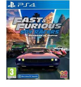 [Précommande] Fast & Furious : Spy Racer - L'ascension de Sh1ft3r sur PS4 (+10€ cagnotté pour les CDAV)