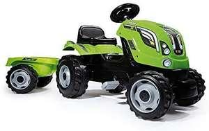 Tracteur à pédales Smoby Farmer XL + Remorque (710111)