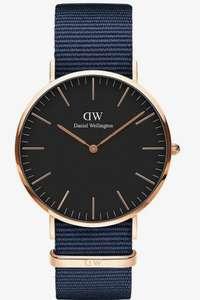 Sélection de montres Daniel Wellington en promotion - Ex : Classic 40 Bayswater
