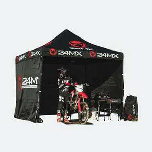 Tente paddock 24MX Easy-Up avec cloisons - 3x3m