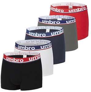 Lot de 5 boxers Homme Umbro