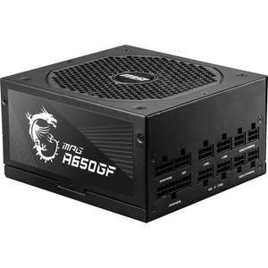 Alimentation PC modulaire MSI MPG A650GF - 650 W, 80+ Gold, ATX (via ODR de 20€)