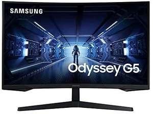 "Écran PC gaming 32"" Samsung Odyssey G5 (LC32G53TQWRXEN) - WQHD, 144 Hz, Dalle VA, Incurvé, 1 ms, FreeSync Premium"
