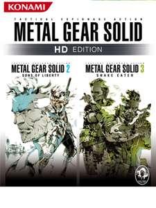 Metal Gear Solid: HD Collection: 2 & 3 sur Xbox One & Series X S (Dématérialisé - Rétro-compatible)