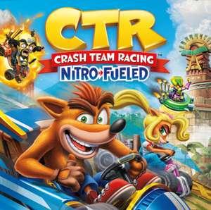 Jeux Nintendo Switch de Licence Crash Bandicoot (Dématérialisé) - Ex: Crash Team Racing Nitro-Fueled
