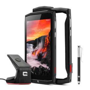 """Pack Tablette 8"""" Crossecall Core-T4 - 3Go RAM, 32Go ROM, 7000mAh, 4G+, IP68 + X-Dock + Coque et Stylet (Crosscall.com)"""