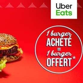 1 Burger Traditionnel acheté en livraison = un 2ème Burger Traditionnel offert - auprès des restaurants Courtepaille