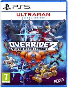 Sélection de jeux vidéo en promotion - Ex : Override 2: Ultraman Deluxe Edition sur PS5 ou Switch