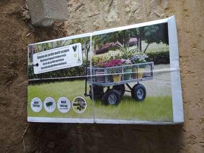 Chariot de jardin multi-usages - Charge max 200Kg (Louhans 71)