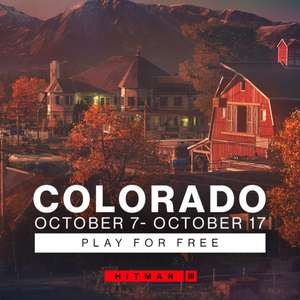 Hitman 3 - Season of Envy : Colorado jouable gratuitement du 7 au 17 octobre et divers récompenses (dématérialisé)