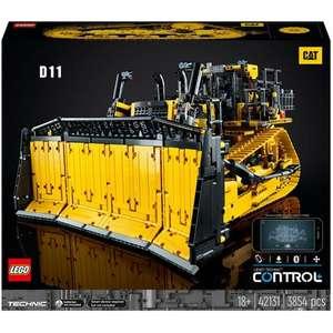 Précommande : Jeu de construction Lego Technic Bulldozer D11 CAT 42131