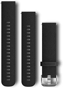 Bracelet de montre Garmin en silicone - 20mm