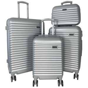 Lot de 3 valises rigides + une vanity case Cactus ABS