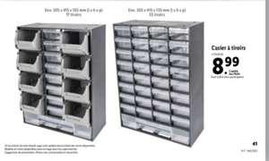 Casier à tiroirs (17 ou 33 tiroirs)