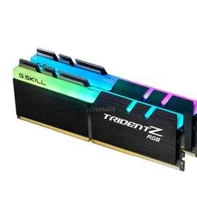 Kit Mémoire DDR4 G.Skill Trident Z RGB F4-3200C16D-32GTZRX 32 Go (2 x 16 Go) - 3200 MHz, CL16
