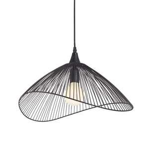 Suspension design Seynave Kasteli - E27, 40 W, métal noir