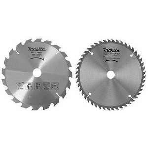 Lames pour scie circulaire Makita en promotion - Ex: Lot de 2 lames carbure (20 et 48 dents) Makita D-20068 - Ø 235 mm, Alésage 30 mm