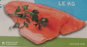 Filet de saumon origine Norvège, Le Kilo