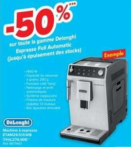 Expresso avec broyeur à grains Delonghi Autentica ETAM 29.513.WB (Frontaliers Belgique)