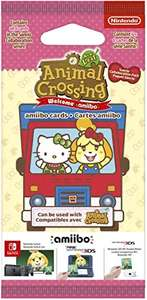 Paquet de 6 Cartes Animal Crossing : New Leaf - Welcome Pack Sanrio