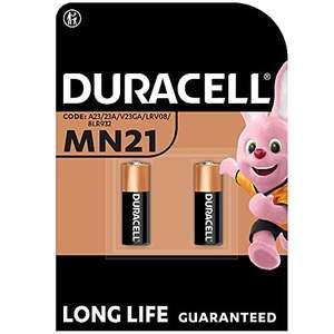 Pack de 2 piles alcalines Duracell MN21 - 12V (vendeur tiers)