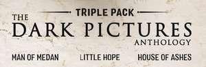 [Pré-commande] Bundle The Dark Pictures Anthology Triple Pack - House of Ashes - Curator's Cut + Little Hope + Man of Medan sur PC (démat.)
