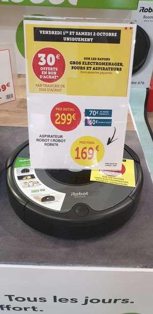 Robot aspirateur iRobot Roomba 676 2021 (Via 60€ en Bon d'achat) - Châteaugiron (35)