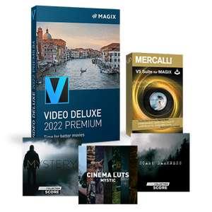 Logiciel Magix Vidéo deluxe 2022 Premium (Dématérialisé)