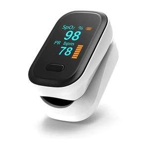 Oxymètre de pouls portable Boxym - oxygène dans le sang, fréquence cardiaque, écran OLED