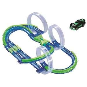 Circuit Auldey triple skyloop 3 looping + 1 voiture