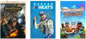 Pathfinder: Kingmaker - Definitive Edition + NASCAR Heat 5 + Overcooked! All You Can Eat jouables gratuitement sur Xbox (dématérialisé)