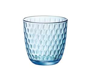 Lot de 6 verres Bormioli Rocco Slot - 29 cl, bleu