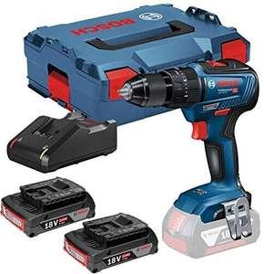 Coffret perceuse-visseuse sans-fil Bosch Professional GSB 18V-55 (06019H5370) - 2 batteries 2.0 Ah + chargeur