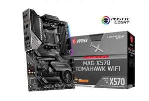 Carte-mère MSI MAG X570 Tomahawk WiFi - ATX, AM4, Wi-Fi 6 AX200, Bluetooth 5.0