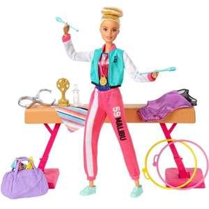 8€ de réduction dès 30 € d'achat sur les Barbie (hors Barbie signature) - Ex: Coffret Barbie gymnastique