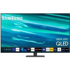 "TV 55"" Samsung QE55Q80A - 4K UHD, QLED, Smart TV, Dalle 100Hz"
