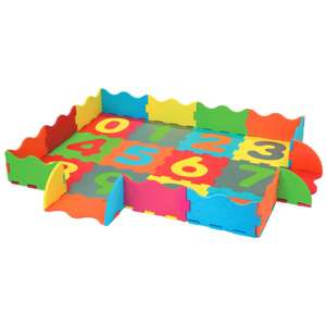 Jouet d'éveil Carrefour Baby Tapis Puzzle en Mousse