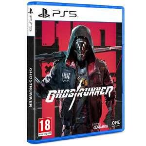 Sélection de jeux en promotion - Ex : Ghostrunner sur PS5
