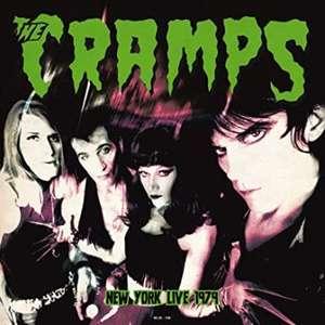 Album Vinyle The Cramps Live in New York August 18 1979